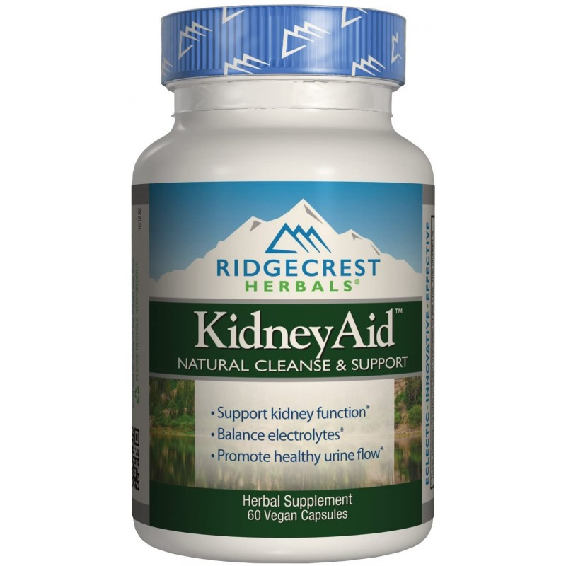 Ridgecrest KidneyAid, Herbal Cleanse and Support C...