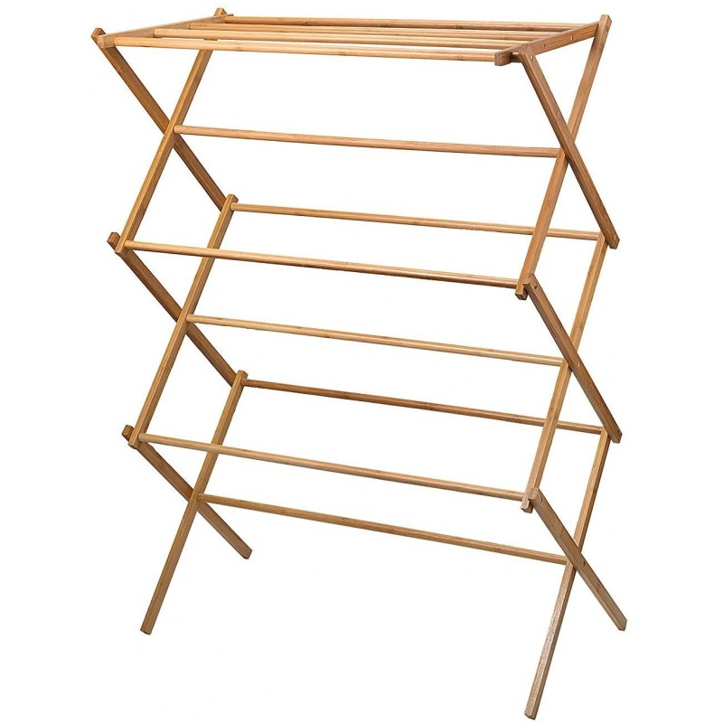 Clothes drying racks clothes drying rack - Bamboo ...