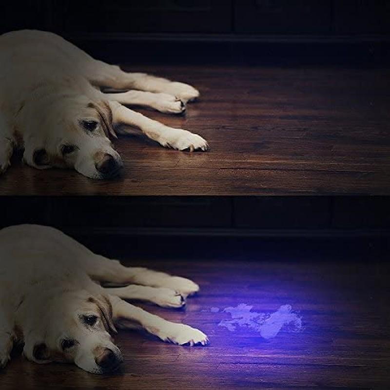 Ultraviolet lamps for medical purposes UV Flashlight Black Light ,  51 LED Blacklight Pet Urine Detector for Dog/Cat Urine,Dry Stains,Bed Bug, Matching with Pet Odor Eliminator