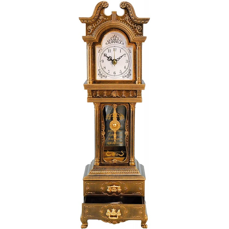 Floor clocks  Grandfather Clock with Well Known Me...