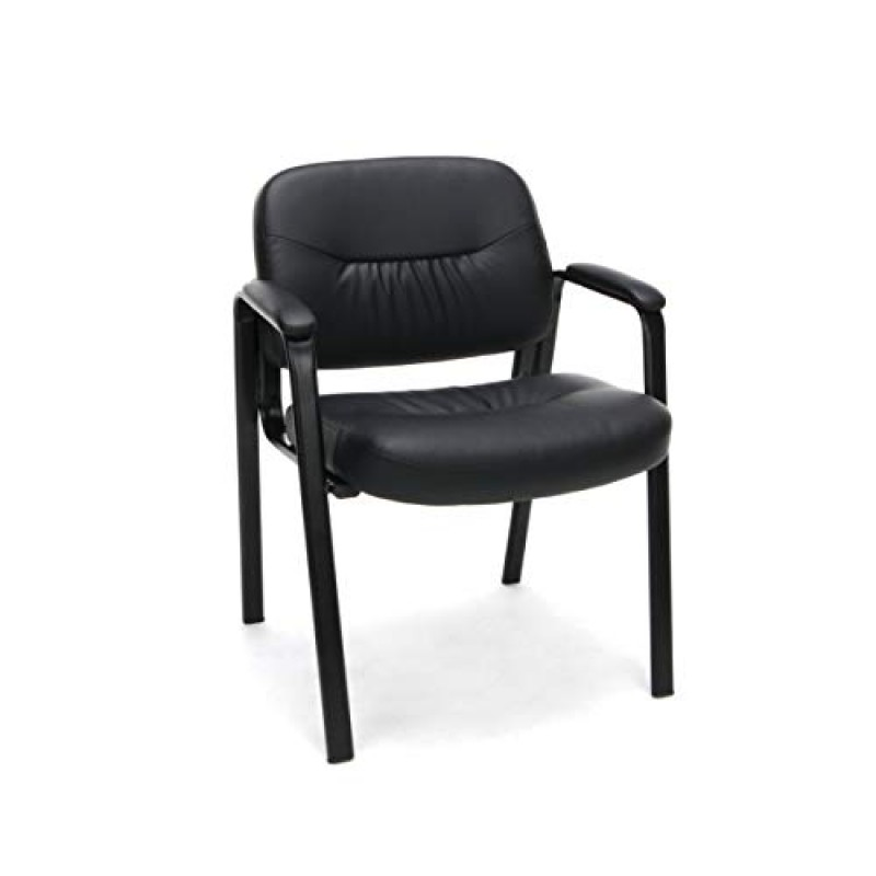 Chairs Bonded Leather Executive Side Chair, in Black (ESS-9010)