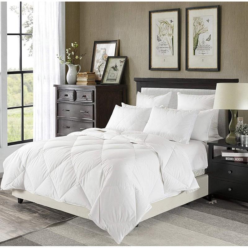 Duvets Lightweight White Down Comforter King Size ...