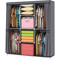 Wardrobes Wardrobe Storage Closet Clothes Portable...