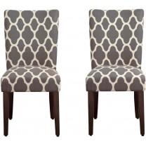 HomePop Parsons Classic Upholstered Accent Dining ...