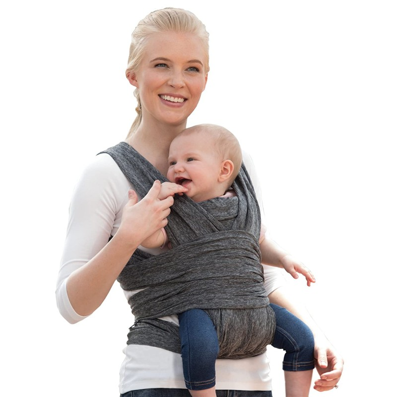 Pouch baby carriers ComfyFit Hybrid Baby Carrier, Heathered Gray