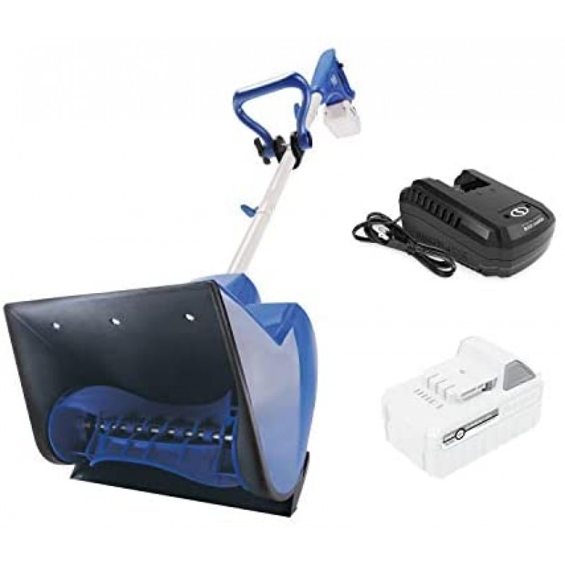 Hand-operated snow pushers  24V-SS11-XR 24-Volt iON+ Cordless Snow Shovel Kit | 11-Inch | W/ 5.0-Ah Battery and Charger