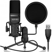 Web consoles USB Gaming Condenser Microphone,XIIVI...