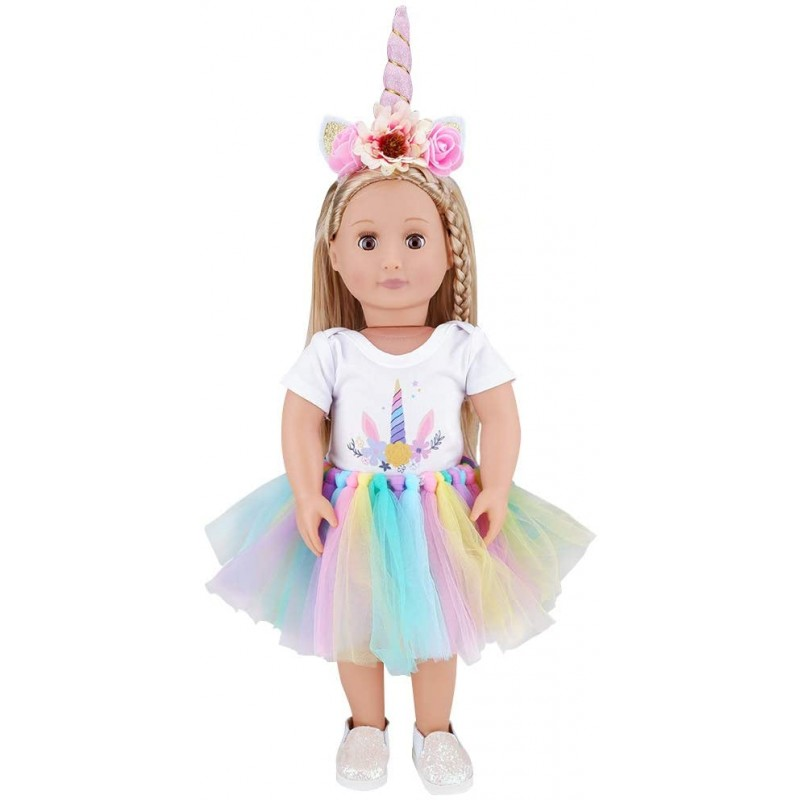 Doll costumes  Dolls Clothes, Headband, Tutu fits ...