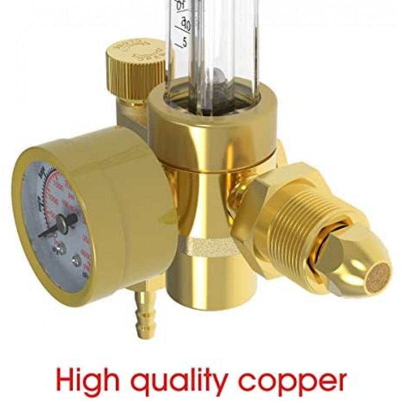Gas regulators Argon/CO2 Mig Tig Flow Meter Gas Regulator Gauge Welding Weld