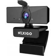 Computer cameras 1080P Business Webcam with Dual M...