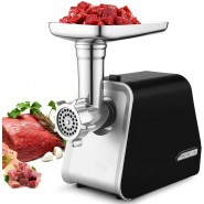 Electric Meat Grinder, 2000W Max Stainless Steel M...