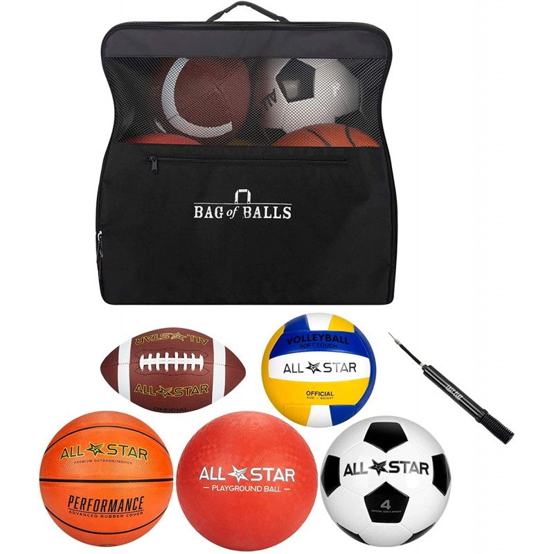 Balls for sports  Bag of Balls – Basketball, Soc...