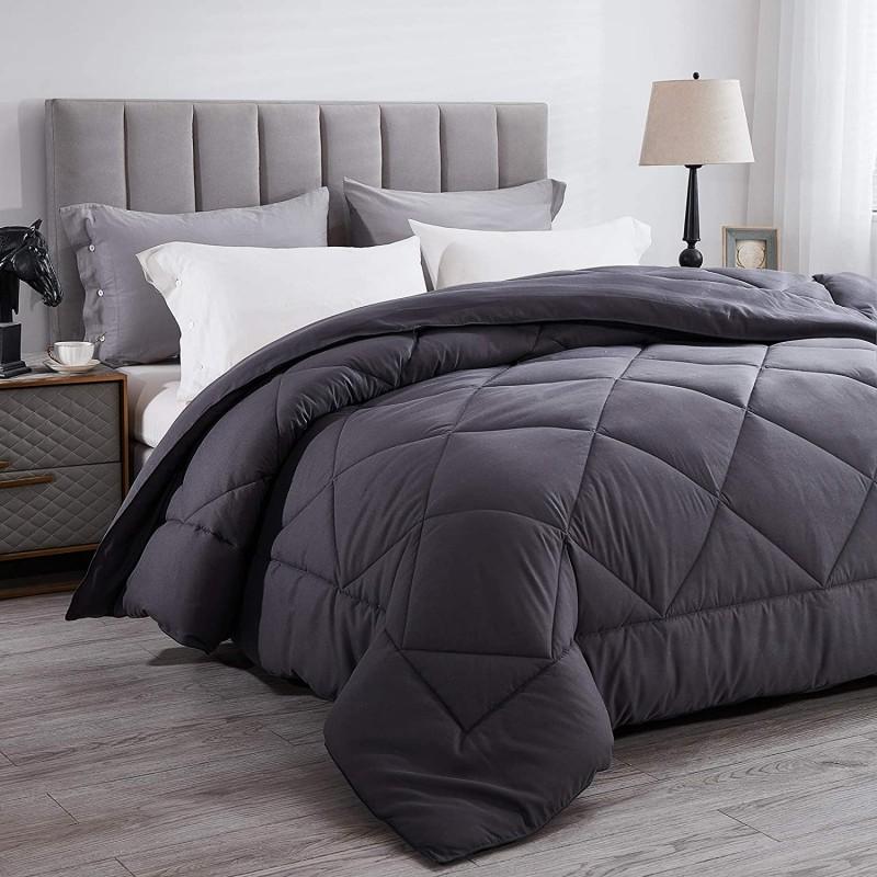 Comforters  All-Season King Down Alternative Quilt...
