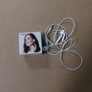 Peorpel  ear phones Universal headset white