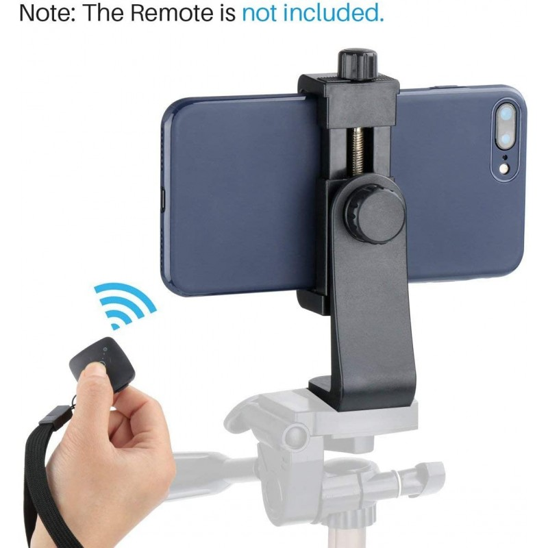 Selfie sticks Phone Tripod Stand Adapter Cell Phone Holder Mount Adapter, Fits iPhone, Samsung, and All Phones, Rotates Vertical and Horizontal, Adjustable Clamp