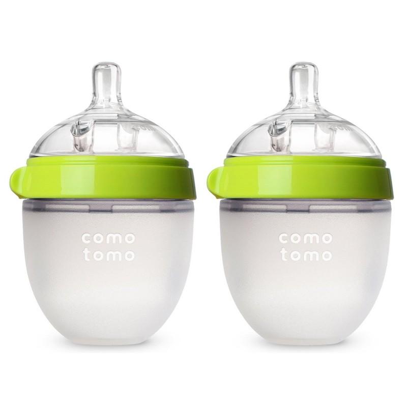 Nursing bottles  Baby Bottle, Green, 5 Ounce (2 Count)