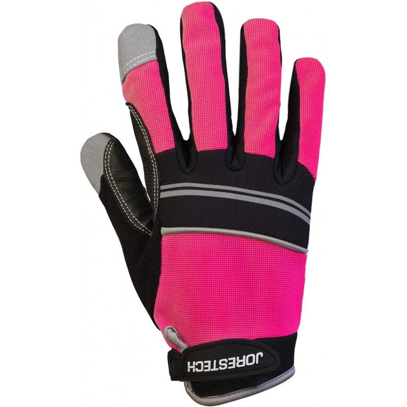 Protective work gloves  Work Gloves Multipurpose (Medium, Pink)