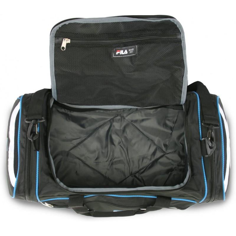 sport bags Large Sport Duffel Bag, Black/Blue, One Size