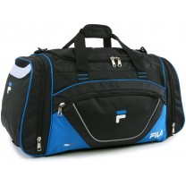 sport bags Large Sport Duffel Bag, Black/Blue, One...