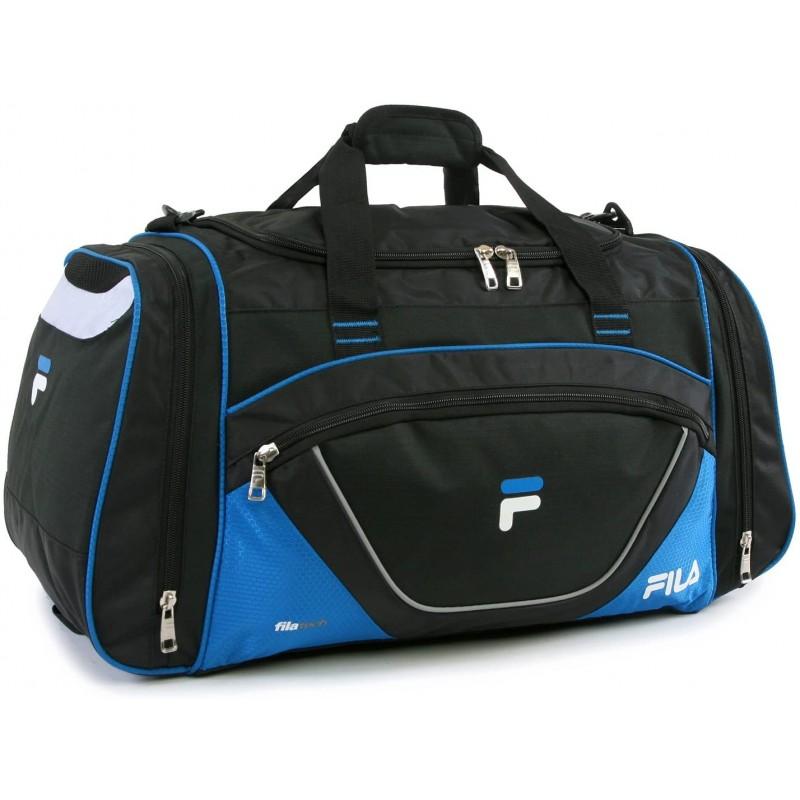 sport bags Large Sport Duffel Bag, Black/Blue, One...