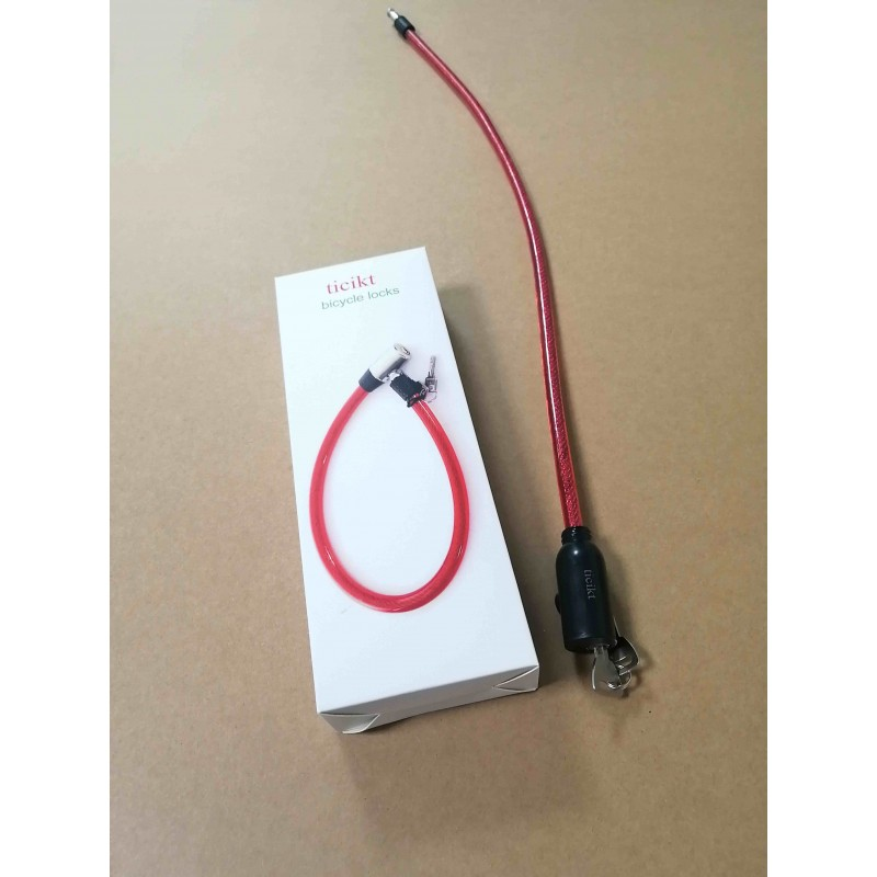 ticikt bicycle locks red