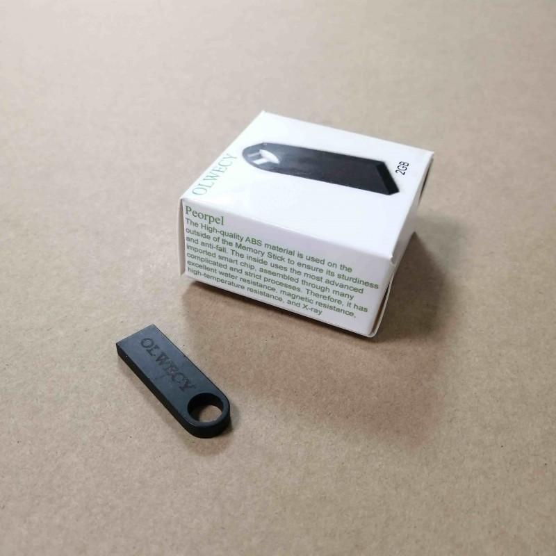 OLWECY  2G blank usb flash drives 2G black