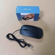 PMUAFG Corded Mouse – Wired USB Mouse For Comput...