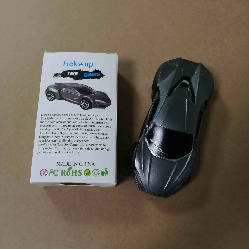 Hekwup Toy Vehicles black Children's Small Toy Car