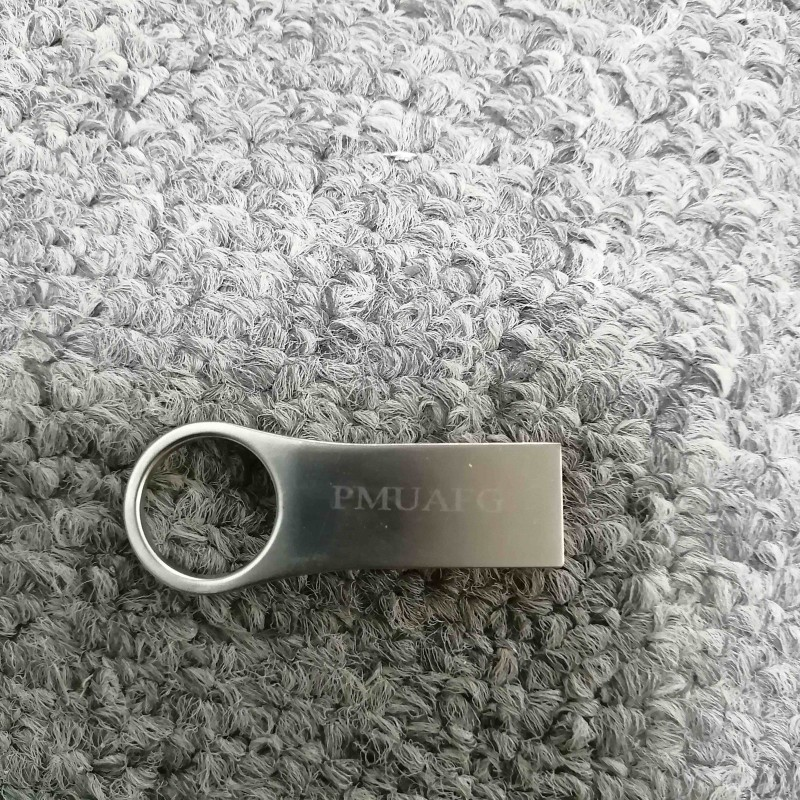 PMUAFG 16G  Blank Usb Flash Drives 16G Silver
