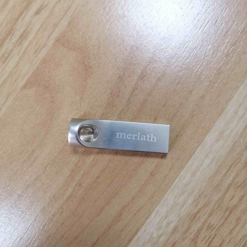 merlath 8G  Blank Usb Flash Drives 8G Silver