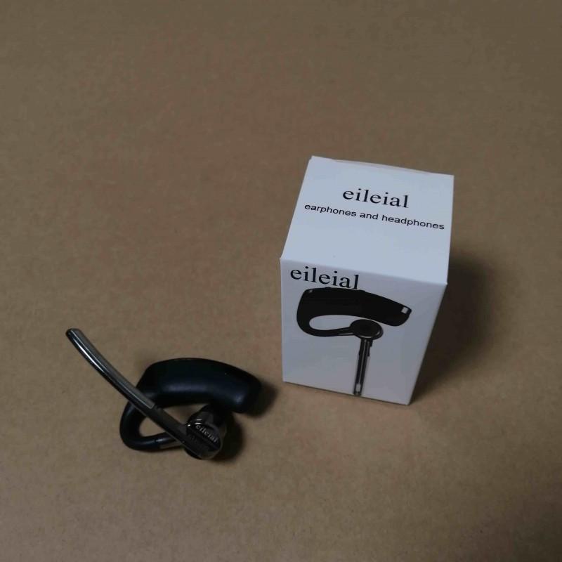 eileial with Over Ear Hook Bluetooth earphone, Deep Bass Boost Earphones, Shower Headphones,  Headset Mic, Gym Workouts