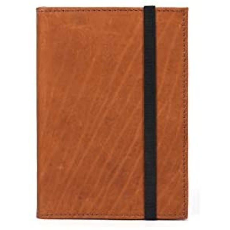 Aaron Leather Journal Refillable Writing Notebook-...