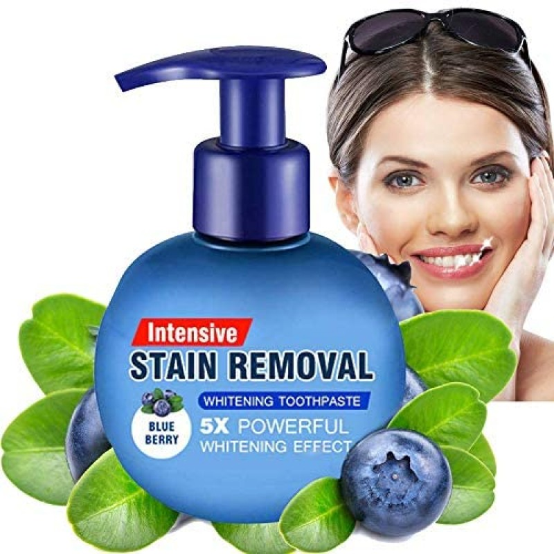 Intensive Stain Removal Whitening Toothpaste Bakin...