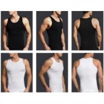 2pk Mens Body Slimming shapewear Waist Underwear