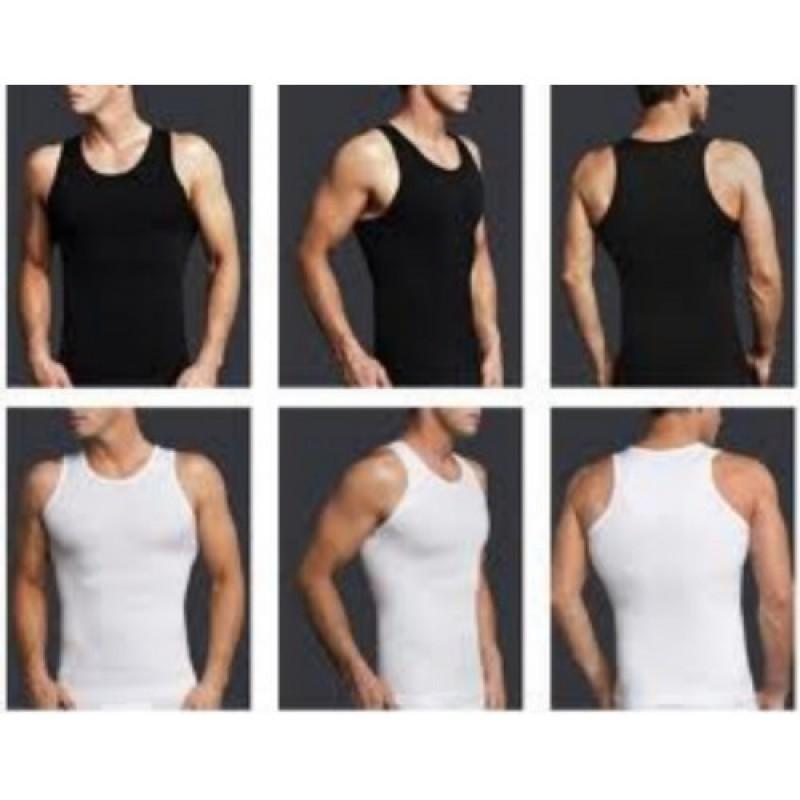 2pk Mens Body Slimming shapewear Waist Underwear